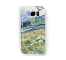 Vincent Van Gogh landscapes from Saint-Remy Samsung Galaxy Case/Skin