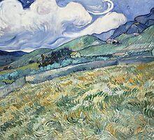 Vincent Van Gogh landscapes from Saint-Remy by Acosmist