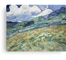 Vincent Van Gogh landscapes from Saint-Remy Canvas Print