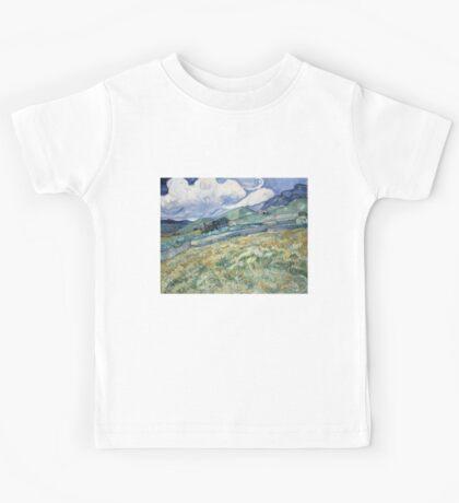 Vincent Van Gogh landscapes from Saint-Remy Kids Tee