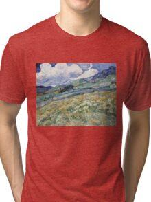 Vincent Van Gogh landscapes from Saint-Remy Tri-blend T-Shirt