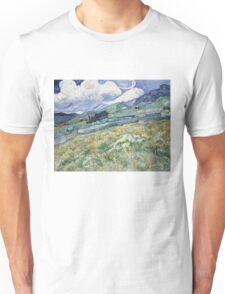 Vincent Van Gogh landscapes from Saint-Remy Unisex T-Shirt