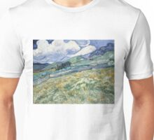 Vincent Van Gogh landscapes from Saint-Remy Unisex T-Shirt