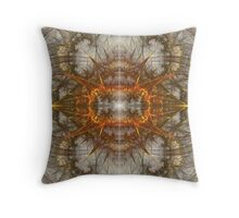 Julia Virus Throw Pillow