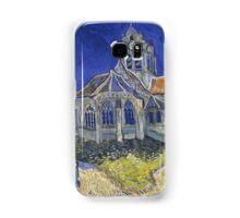 Vincent Van Gogh church at Auvers Samsung Galaxy Case/Skin