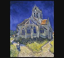 Vincent Van Gogh church at Auvers Unisex T-Shirt