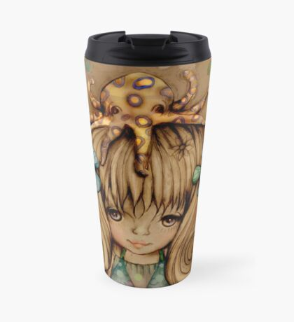 The Girl and the Octopus Travel Mug