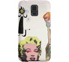 Louis, Miro, Warhol, Toulouse-Lautrec Samsung Galaxy Case/Skin