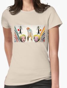 Louis, Miro, Warhol, Toulouse-Lautrec Womens Fitted T-Shirt