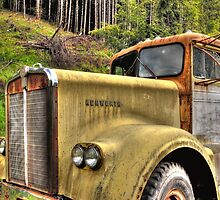 old KW near Ashland Or. by pdsfotoart