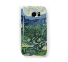 Vincent Van Gogh the olive trees Samsung Galaxy Case/Skin