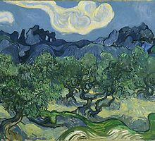 Vincent Van Gogh the olive trees by Acosmist