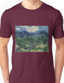 Vincent Van Gogh the olive trees Unisex T-Shirt