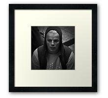 Platinum Blond Framed Print