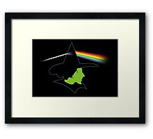 Wicked Side of the Moon Framed Print