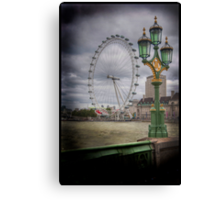 The Green Green Glass of Home Canvas Print