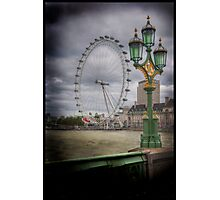 The Green Green Glass of Home Photographic Print