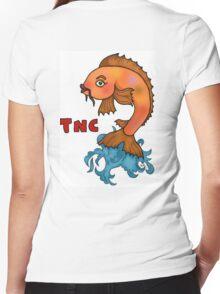 TNC- Carp Women's Fitted V-Neck T-Shirt
