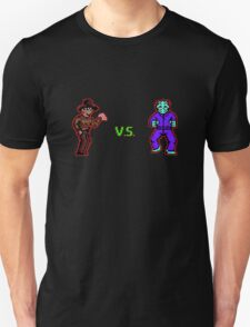 Freddy vs. Jason 8-Bit T-Shirt