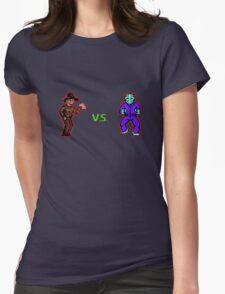 Freddy vs. Jason 8-Bit Womens Fitted T-Shirt