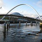 Millenium Bridge by Michael Oubridge