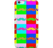 Mustache by Warhol iPhone Case/Skin