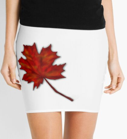 Leaf Mini Skirt
