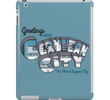 Greetings from Cerulean City iPad Case/Skin