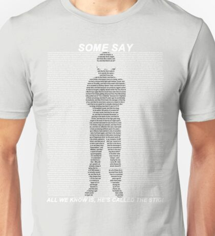The Stig Unisex T-Shirt