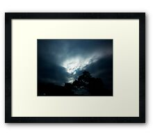 Sun Force Framed Print