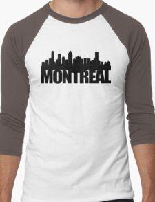 Montreal Skyline - black Men's Baseball ¾ T-Shirt