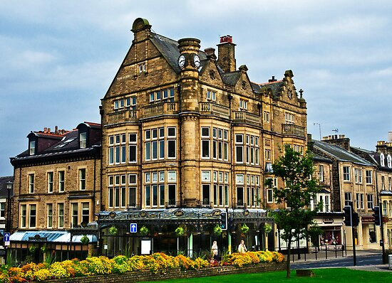 Bettys Cafe Tea Rooms, Harrogate, Yorkshire, UK. by Sue Smith