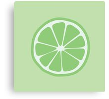 Grow - Lime (green/green) Canvas Print
