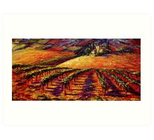 Tuscan Wine Country Art Print