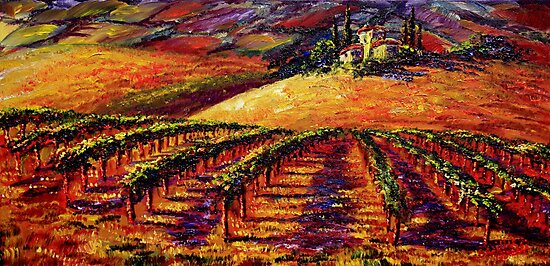 Tuscan Wine Country by sesillie
