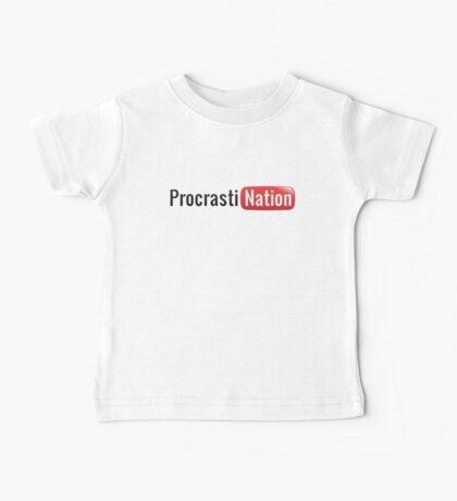 Procrastination Baby Tee
