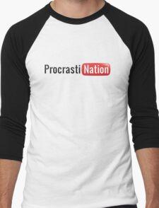 Procrastination Men's Baseball ¾ T-Shirt