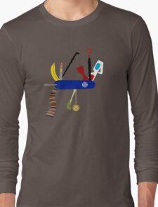 Swiss Doctor Knife Long Sleeve T-Shirt