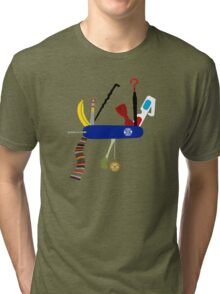 Swiss Doctor Knife Tri-blend T-Shirt
