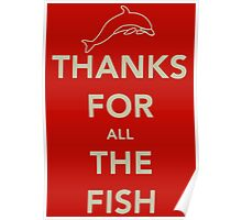 Thanks for all the fish Poster