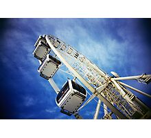 Big Wheel (Colour) Photographic Print