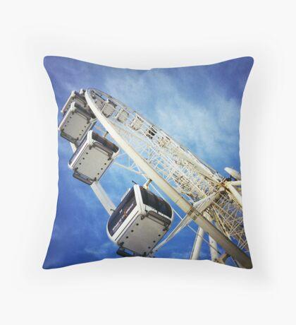 Big Wheel (Colour) Throw Pillow