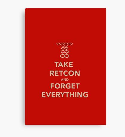 Take Retcon Canvas Print