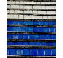 Tiles upward Photographic Print