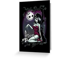 Alice in Zombie Land  Greeting Card