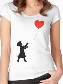 FOLLOW YOUR HEART ♥ Women's Fitted Scoop T-Shirt