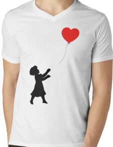 FOLLOW YOUR HEART ♥ Mens V-Neck T-Shirt