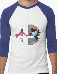 Lucas With Rope Snake - Sunset Shores Men's Baseball ¾ T-Shirt