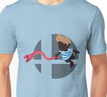 Lucas With Rope Snake - Sunset Shores Unisex T-Shirt