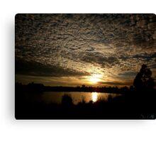 Sunrise Serenity Canvas Print